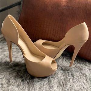 Shoes - ALDO open toe heels